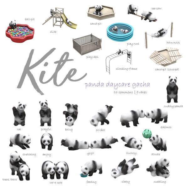 KITE Panda Daycare Gacha Ad